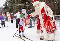Почти тысяча лыжников приняла участие вежегодной Манжосовской гонке