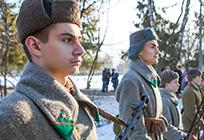 Эстафета «Салют Победе!» стартовала вЗахаровском
