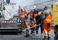 Четыре участка дорог отремонтировали вОдинцовском районе сопережением графика