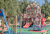 Новая детская площадка открылась вКубинке