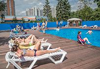 Первый открытый бассейн появился вОдинцово