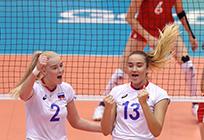Молодежная сборная России поволейболу успешно начала второй групповой этап наЧемпионате мира