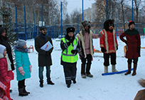 Одинцовские молодогвардейцы провели первую акцию врамках проекта «Безопасность детей надороге»