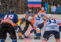 Сборная главы Одинцовского района встретилась схоккейной командой изНикольского