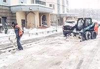Дляустранения последствий непогоды вОдинцовском районе задействовано более 300 единиц техники