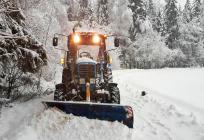 ВОдинцовском районе засутки вывезли более 7тысяч кубометров снега