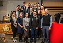 Лариса Лазутина иДмитрий Голубков встретились скандидатами вМолодежный парламент Одинцовского района