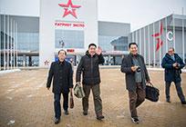 Делегация главной военной прокуратуры Китайской Народной Республики посетила КВЦ «Патриот»