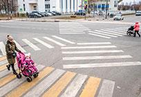Первые диагональные пешеходные переходы появились вОдинцово