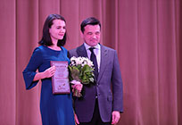 Андрей Воробьев наградил лучших молодых педагогов Московской области