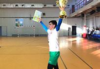 Команда сельского поселения Успенское выиграла Кубок России пофутзалу среди юношей