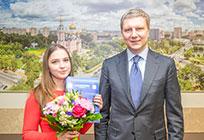 Еще 3детям-сиротам Одинцовского района вручили ключи отих новых квартир