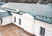 ВГолицыно завершился 1этап капитального ремонта будущего музея