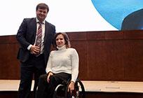 Житель Одинцово Андрей Абрамов стал тренером года поадаптивным видам спорта поверсии премии «Живу спортом»
