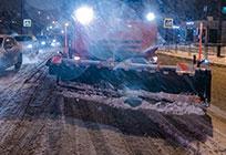 Более 160 единиц спецтехники задействовали вуборке снега водворах инадорогах Одинцовского района
