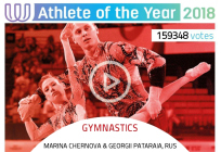 Одинцовские акробаты стали спортсменами года врамках премии Всемирных игр