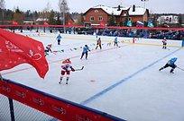 Сборная главы Одинцовского района встретилась схоккейной командой изКубинки