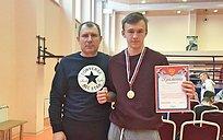 Два боксера изУспенского прошли отбор научастие впервенстве Московской области