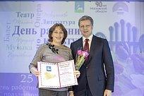 ВУспенском наградили работников культуры Одинцовского района