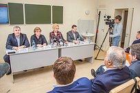 ВПерхушковской больнице прошло совещание сруководителями медицинских учреждений Одинцовского района