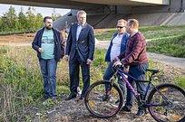 Андрей Иванов провел велообъезд села Ромашково