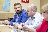 Андрей Иванов встретился синициативной группой жителей трех долгостроев 8микрорайона Одинцово