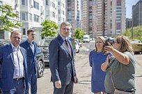 Андрей Иванов проинспектировал микрорайон Трехгорка Одинцовского городского округа
