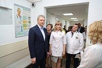 Андрей Иванов посетил Центральную городскую больницу Звенигорода