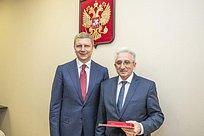 Последнюю «Медаль Чистяковой» вручили наСовете депутатов