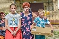 Дмитрий Голубков оказал помощь нуждающейся семье изЕршовского