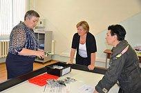 Лариса Лазутина помогла переоснастить кабинеты образовательных учреждений вЗвенигороде