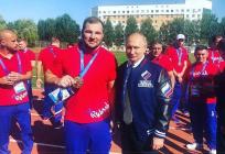 Одинцовский борец Сергей Семенов стал бронзовым призером IIЕвропейских игр