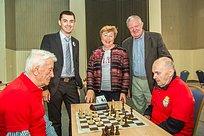 ВОдинцово прошёл шахматно-шашечный турнир врамках проекта «Долголетие вПодмосковье»