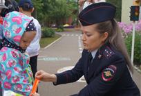 ВОдинцовском городском округе прошла акция «Веселый светофор»