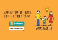 Комплексное благоустройство дворов Одинцовского округа проведут порезультатам голосования напортале «Добродел»