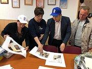 Врамках партийного проекта «Новая школа» Одинцовские единороссы проверили ремонт школы идетского сада вЗвенигороде