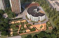 Круглый детский сад планируется возвести вОдинцово