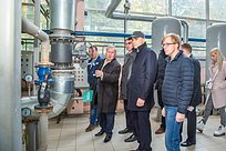 Дмитрий Голубков посетил срабочей поездкой территориальное управление Успенское