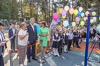 Партийцы приняли участие воткрытии 3новых детских площадок Одинцовского городского округа