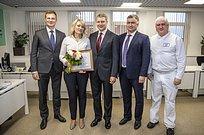 Андрей Иванов поздравил сотрудников Одинцовской кондитерской фабрики с20-летним юбилеем