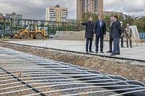 Андрей Иванов: «Реконструкционные работы центрального стадиона вОдинцово завершены на65процентов»
