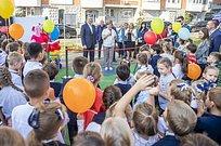 Сразу три детские площадки искейт-парк появились вОдинцово