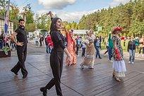 Елена Успенская провела танцевальный мастер-класс вОдинцово