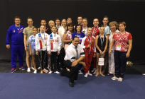 Спортсмены изОдинцовского округа завоевали 3медали наэтапе Кубка мира поспортивной акробатике
