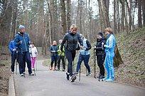 Международные соревнования поскандинавской ходьбе пройдут вОдинцовском округе 29сентября