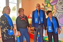 Лариса Лазутина оценила качество реализации проекта «Добрая комната» вОдинцовском округе