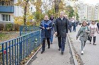 Андрей Иванов посетил синспекцией микрорайон «Южный» вЗвенигороде