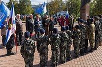 Сторонники партии напутствовали участников патриотического горного похода поСеверному Кавказу
