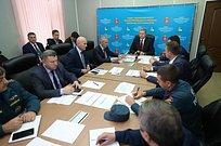 Всероссийская штабная тренировка погражданской обороне проходит вОдинцовском округе