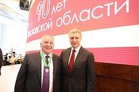 Ещё один житель Одинцовского городского округа награждён всвязи сюбилеем Подмосковья